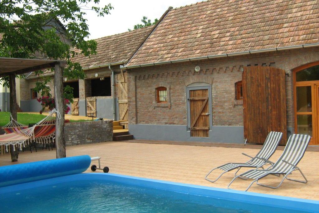Vakantiewoningen  Hongarije te huur Magyarlukafa- HU-0027-01 met zwembad nabij Strand met wifi te huur
