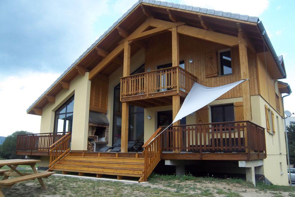 Chalet huren in  Frankrijk -   met wifi  voor 11 personen  Deze prachtige villa biedt plaats ..