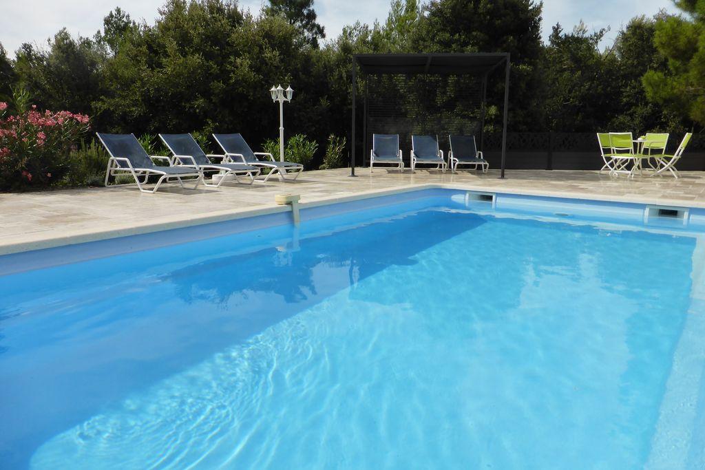 Vrijstaande ruime villa met verwarmd privézwembad, 15 km van de Gorges du Verdon - Boerderijvakanties.nl