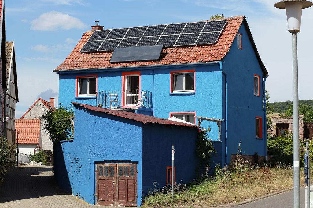 Vakantiewoning huren in Thuringen -   met wifi  voor 5 personen  Het vakantiehuis heeft een vormgev..