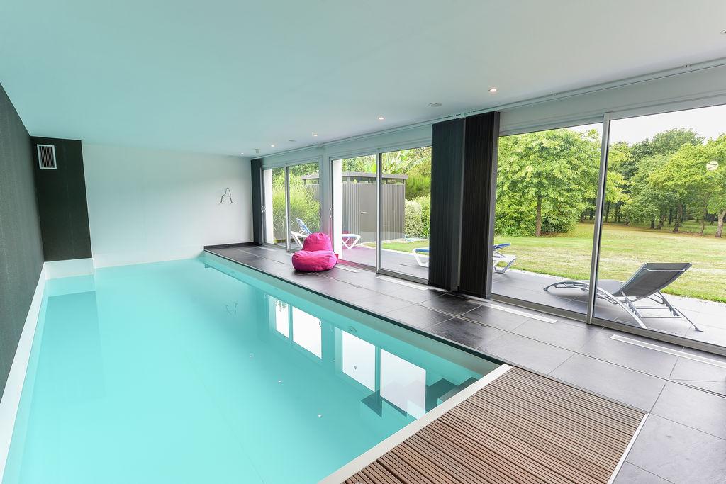 Moderne villa met privézwembad in Fouesnant, Frankrijk - Boerderijvakanties.nl