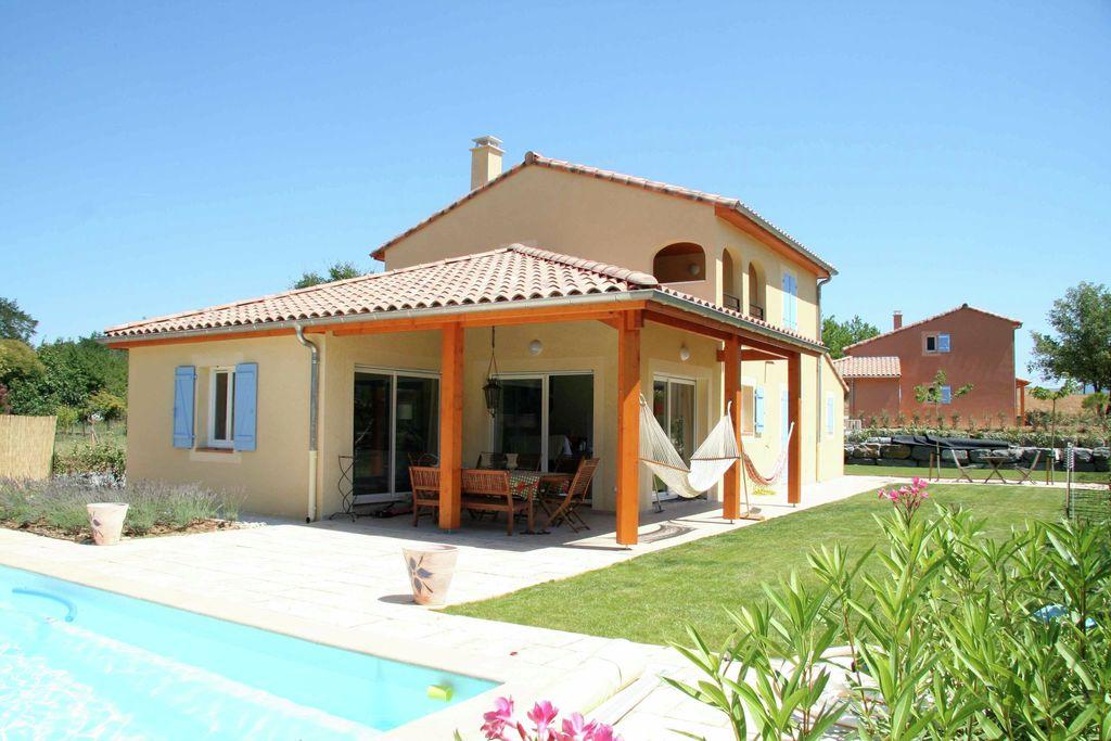 Villa huren in Ardeche - met zwembad  met wifi met zwembad voor 8 personen  Vrijstaande villa met verwarmbaar ..