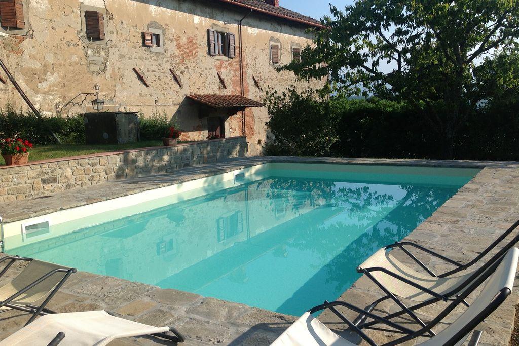 Prachtig landhuis, mooi uitzicht over het Toscaanse landschap, privézwembad - Boerderijvakanties.nl