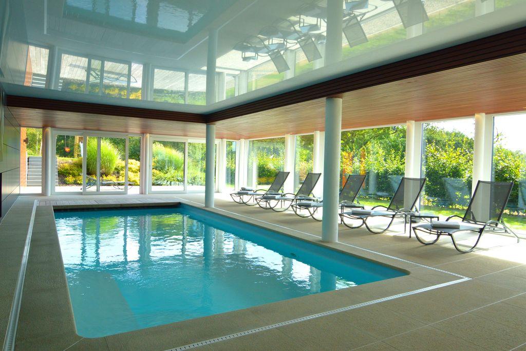 Malmedy- Vakantiewoning met zwembad  met wifi te huur