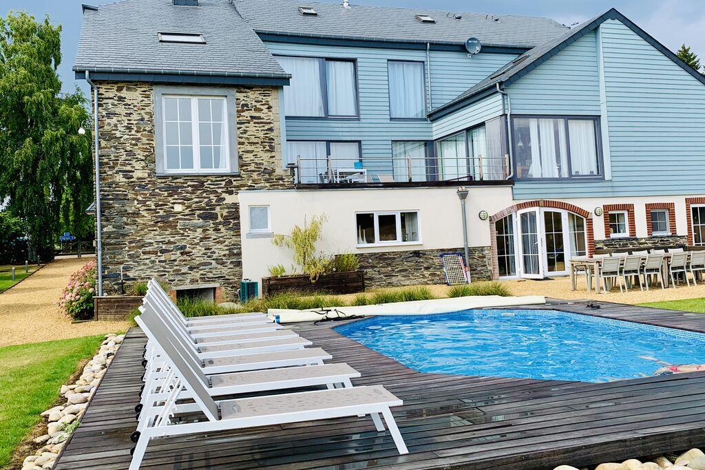 Vakantiehuis met zwembad en sauna in gerenoveerde boerderij - Boerderijvakanties.nl