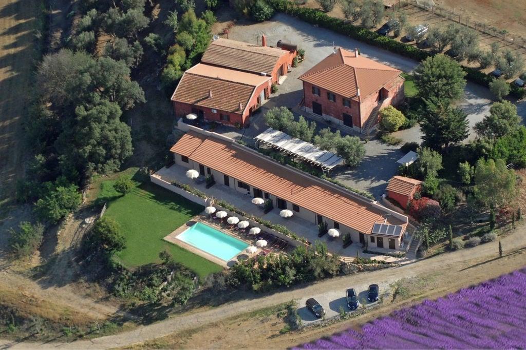 Montalto-di-Castro- Boerderij met zwembad  met wifi te huur