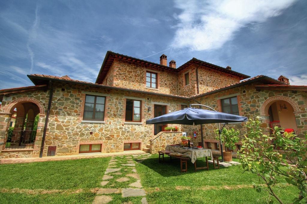 Traditioneel vakantiehuis in Lucignano met privétuin - Boerderijvakanties.nl