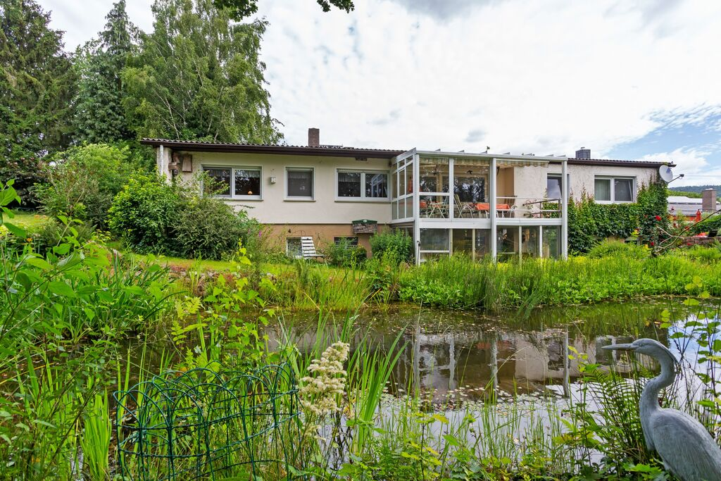 Knus appartement in Bad Zwesten met privéterras - Boerderijvakanties.nl
