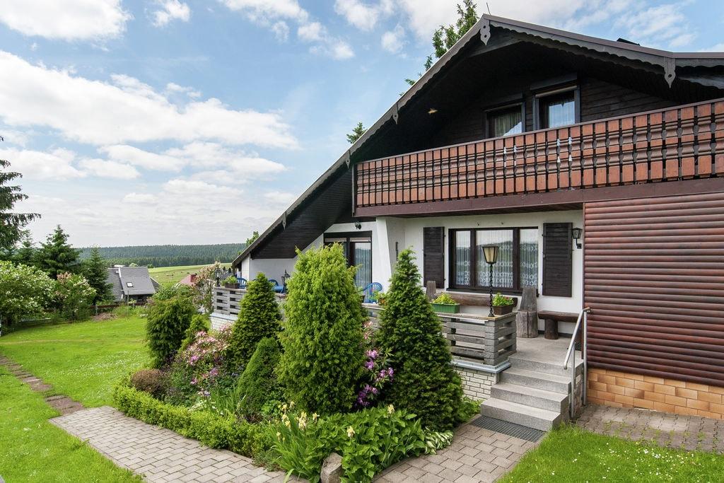 Mooie vrijstaande vakantiewoning met sauna aan de Rennsteig in Thüringen - Boerderijvakanties.nl