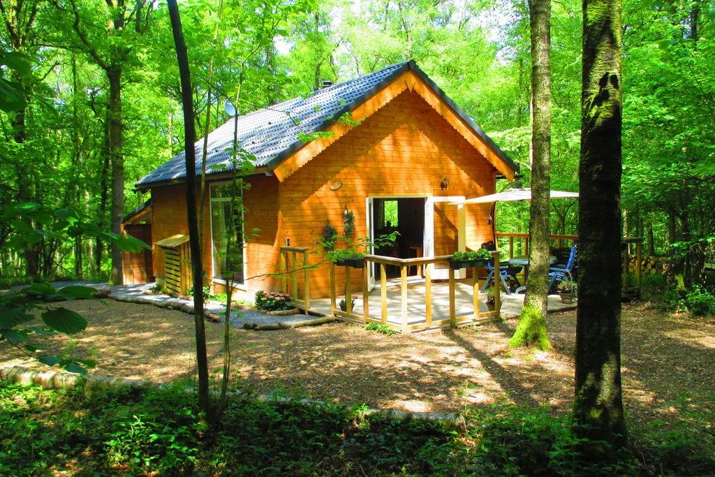 Modern chalet in de Ardennen met een sauna - Boerderijvakanties.nl