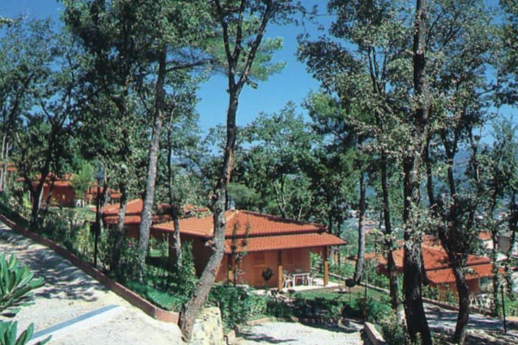 Andora- Bungalow met zwembad  met wifi te huur