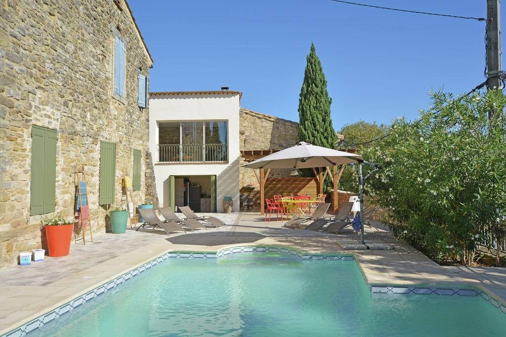Aantrekkelijke villa in Castelnau met privézwembad - Boerderijvakanties.nl