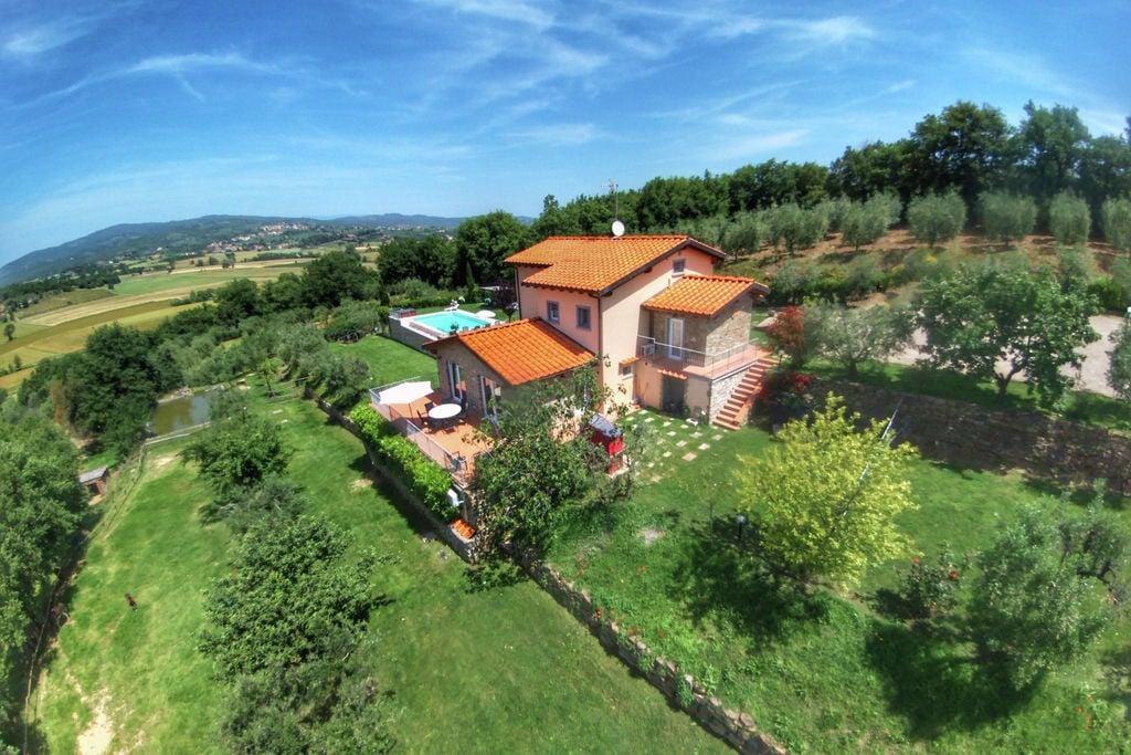 Sfeervolle villa in Monte San Savino met jacuzzi - Boerderijvakanties.nl