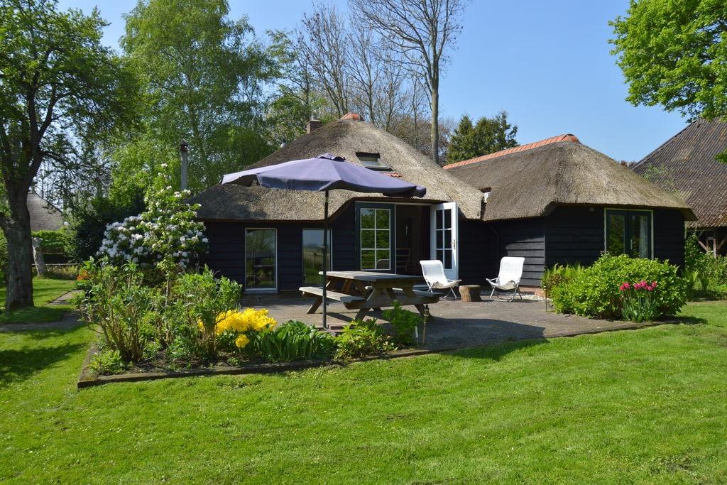 Modern vakantiehuis met privétuin in Giethoorn - Boerderijvakanties.nl