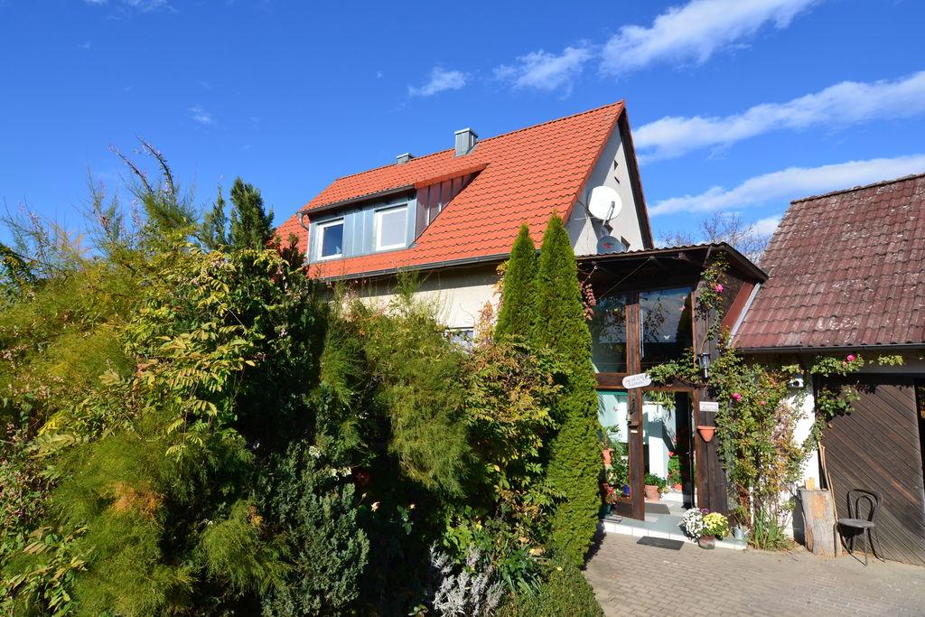Appartement met terras midden in Frankisch Zwitserland - Boerderijvakanties.nl