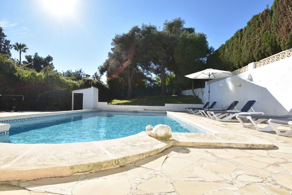 Javea- Villa met zwembad nabij Strand met wifi te huur