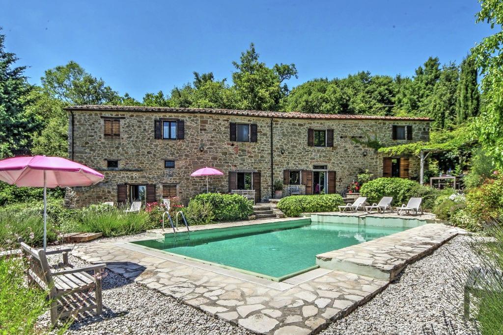 Lippiano- Villa met zwembad  met wifi te huur