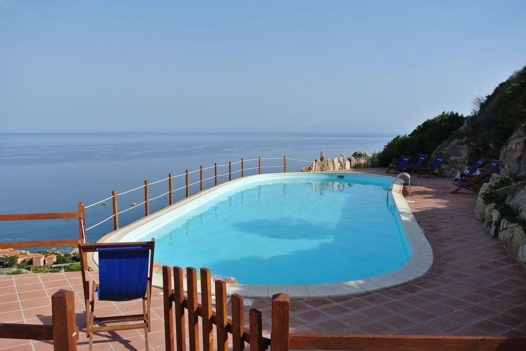 Trinità-D'Agultu- Villa met zwembad  met wifi te huur