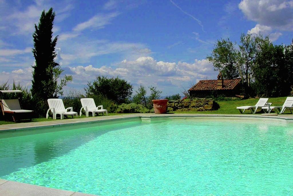 Charmante villa in Cortona met privézwembad - Boerderijvakanties.nl