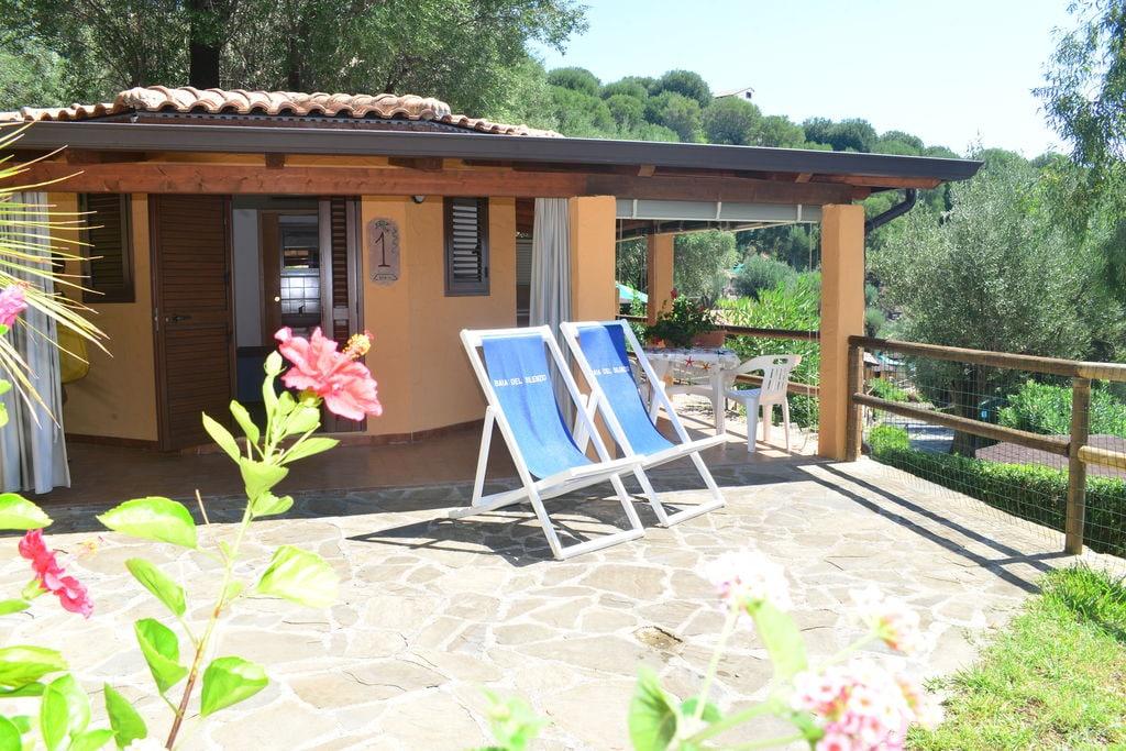 Caprioli-di-Pisciotta- Bungalow met zwembad   te huur