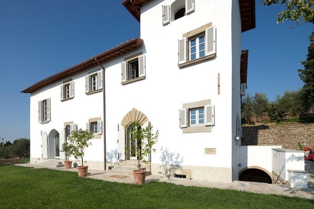 Luxe villa met zwembad en veel privacy in de omgeving van Florence en Arezzo - Boerderijvakanties.nl