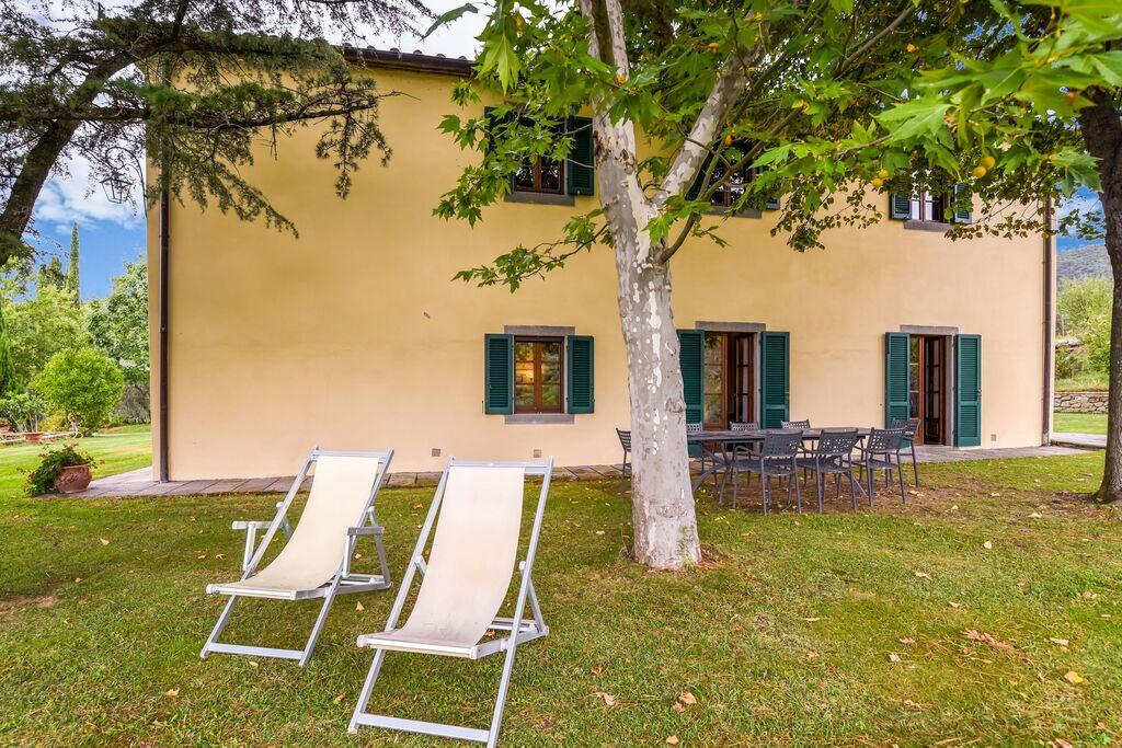 Villa met privé zwembad, 3 km van Cortona, 3 appartementen - Boerderijvakanties.nl
