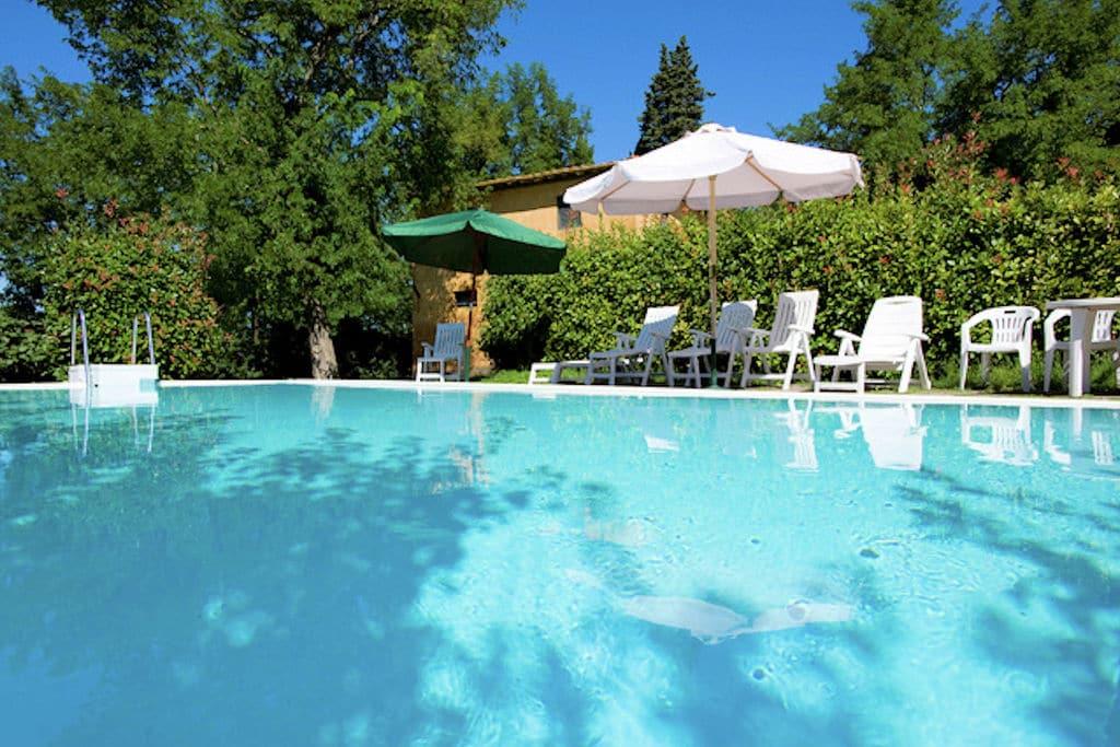Ghizzano-di-Peccioli- Vakantiewoning met zwembad  met wifi te huur