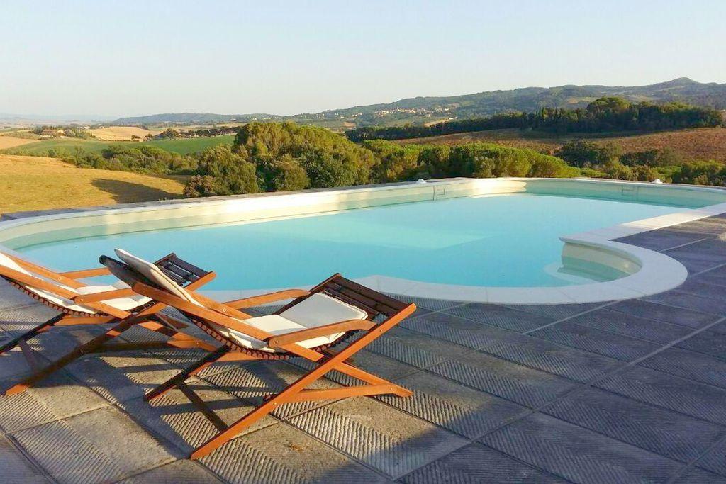Stijlvolle vakantiewoning in Toscane met zwembad - Boerderijvakanties.nl