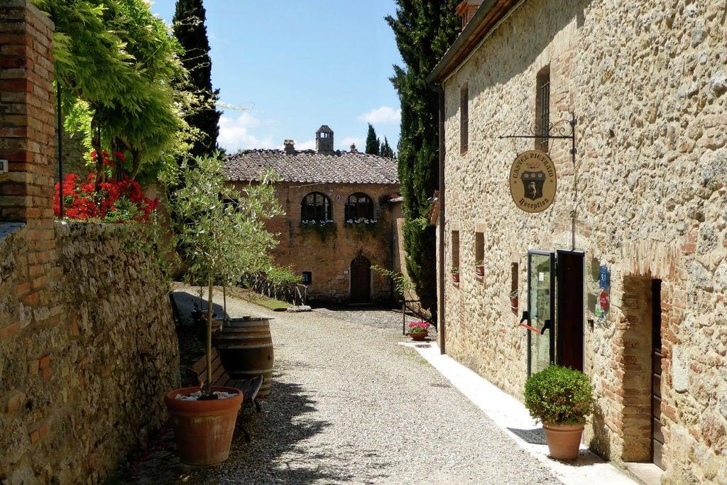 Vakantiewoning Italië, Toscana, Monteriggioni (si) Kasteel IT-53035-18