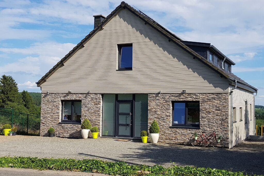 Comfortabele villa in Francorchamps met Sauna - Boerderijvakanties.nl