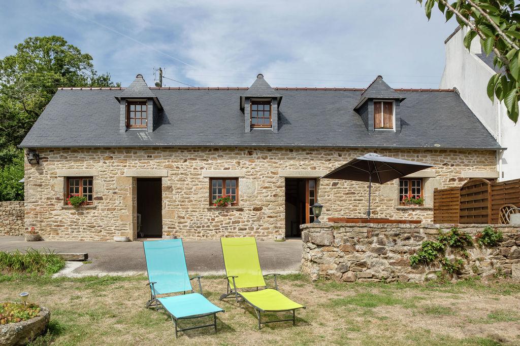 Landelijk vakantiehuis bij strand, cultuur en recreatie in puntje van Bretagne - Boerderijvakanties.nl