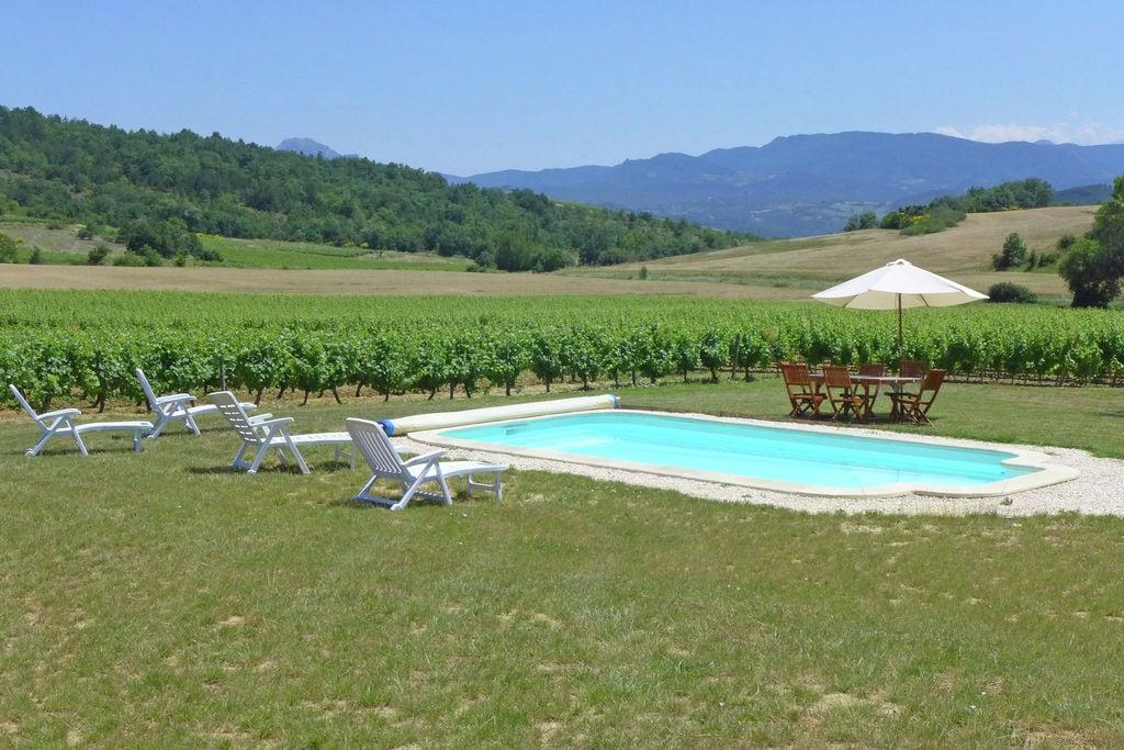 Authentieke vakantiewoning op wijndomein met privézwembad in Zuid-Frankrijk - Boerderijvakanties.nl