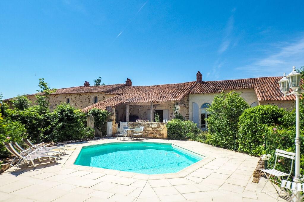 Sfeervolle vakantiewoning in Loire met privézwembad - Boerderijvakanties.nl