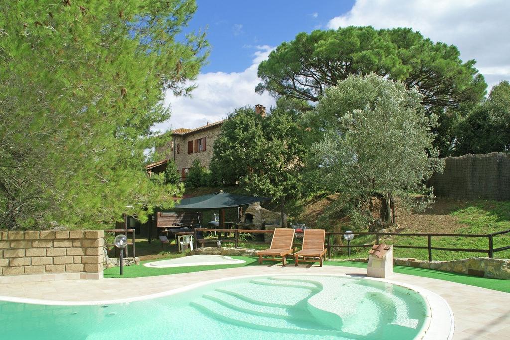 Suvereto- Villa met zwembad  met wifi te huur
