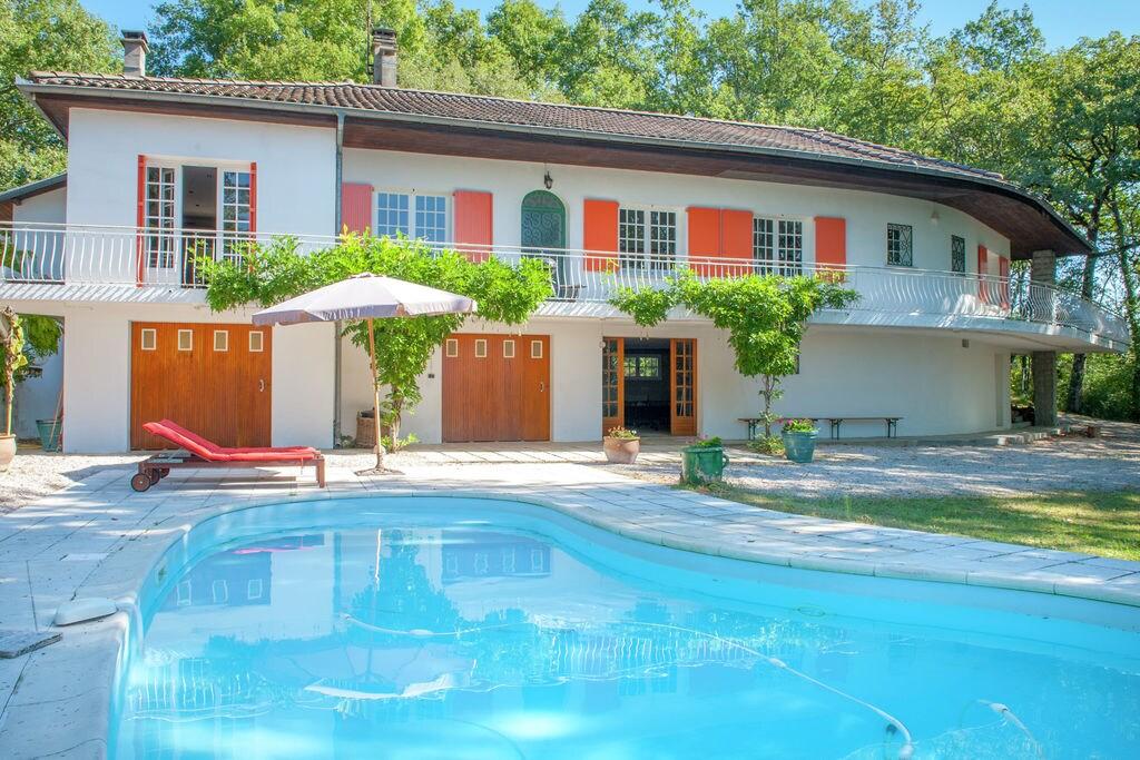Gezellige villa in Midi-Pyrénées met een privézwembad - Boerderijvakanties.nl