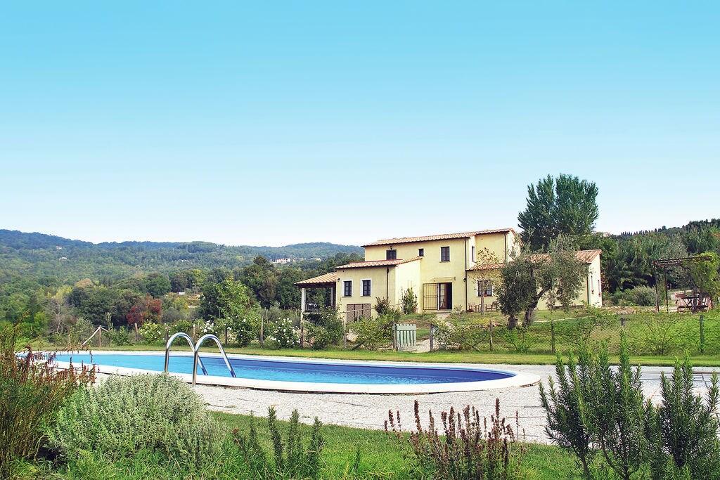 Monteverdi-Marittimo- Villa met zwembad  met wifi te huur