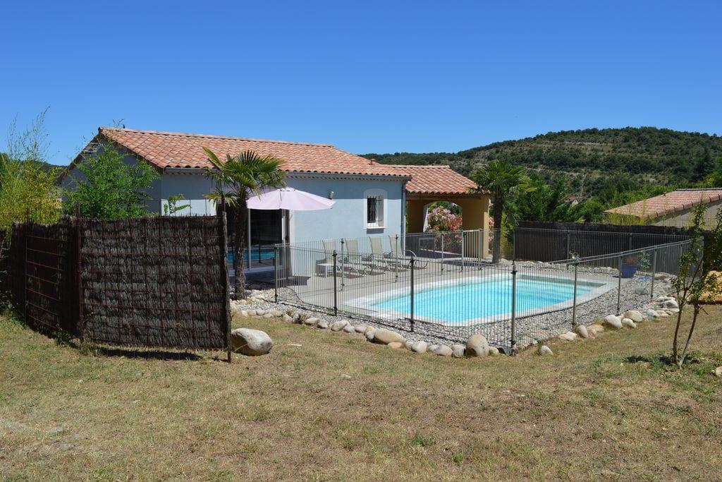 Moderne villa in Zuid-Frankrijk met terras en barbecue - Boerderijvakanties.nl