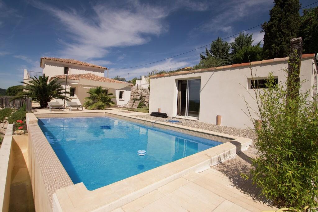 Stijlvolle villa in Draguignan met privé-zwembad en fraai uitzicht. - Boerderijvakanties.nl