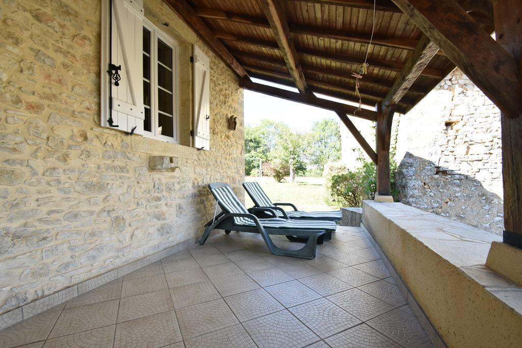 Rustiek vakantiehuis in de heuvels van Campagnac-lès-Quercy - Boerderijvakanties.nl