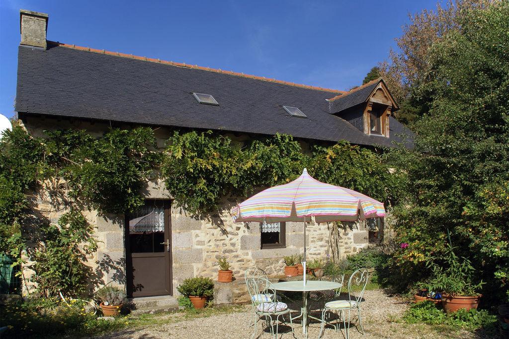 Gezellige vakantiewoning met terras en tuin in de buurt van Quimperlé. - Boerderijvakanties.nl