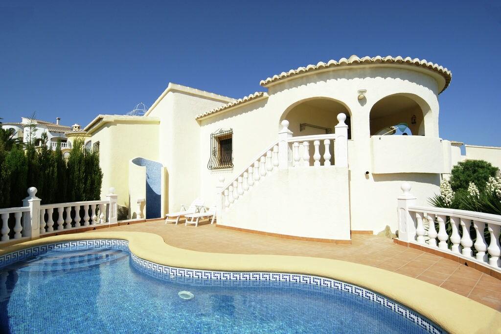 Benitachell- Vakantiewoning met zwembad nabij Strand  te huur