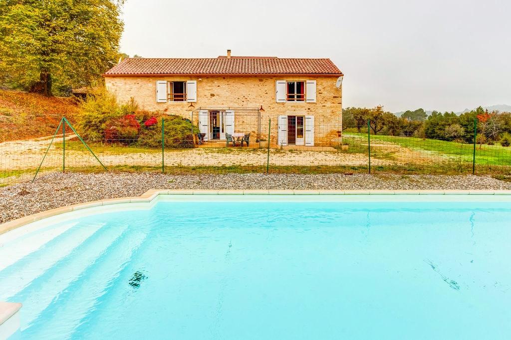 Authentiek vakantiehuis in Zuid-Frankrijk met privé zwembad - Boerderijvakanties.nl