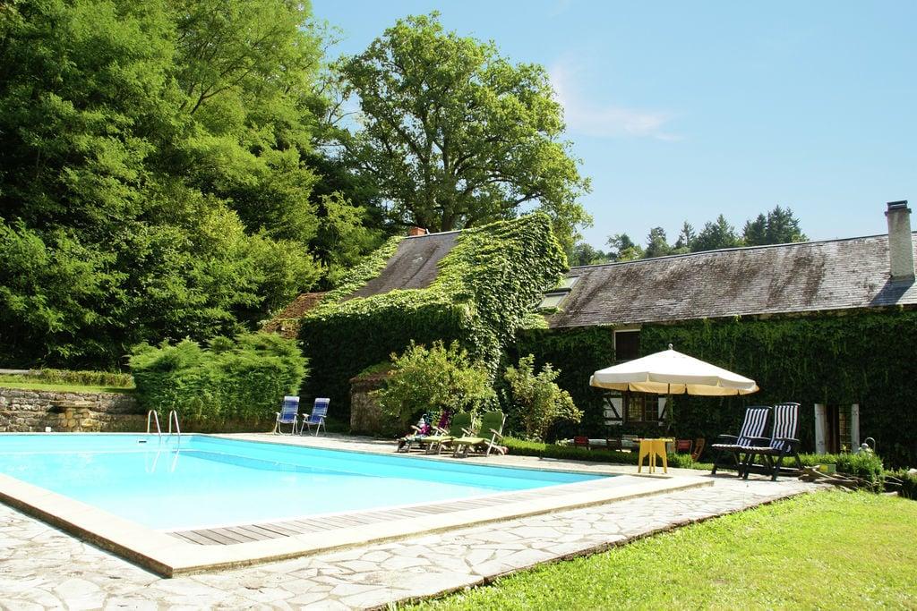 Schilderachtig vakantiehuis in de Bourgogne met privézwembad - Boerderijvakanties.nl