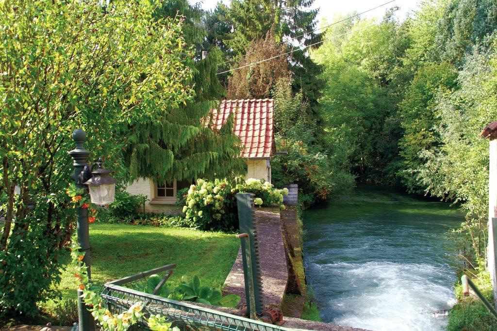 Zonovergoten cottage in Vitz-sur-Authie met privétuin - Boerderijvakanties.nl