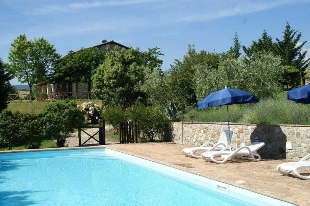Fabro- Appartement met zwembad   te huur
