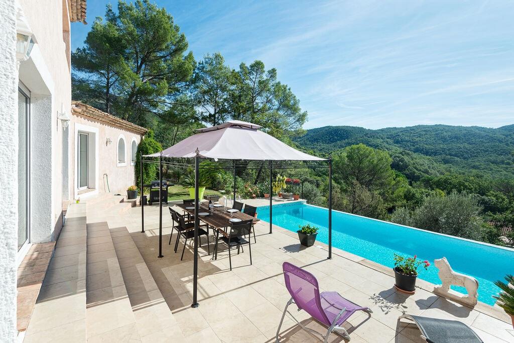Vrijstaande villa in de Provence met privézwembad en fraai uitzicht - Boerderijvakanties.nl