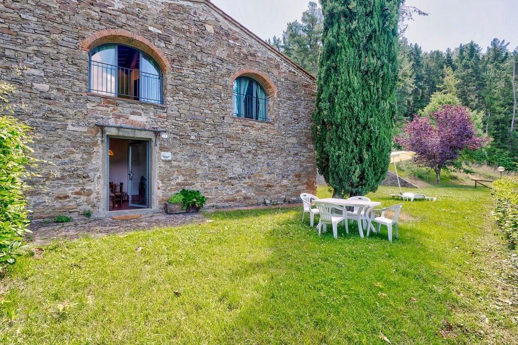 Vrijstaand, knus vakantiehuis op wijngaard met zwembad en uitzicht over Toscane - Boerderijvakanties.nl