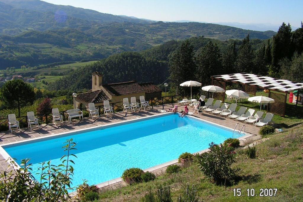 Vrijstaand, luxe vakantiehuis op wijngaard met zwembad en uitzicht over Toscane - Boerderijvakanties.nl