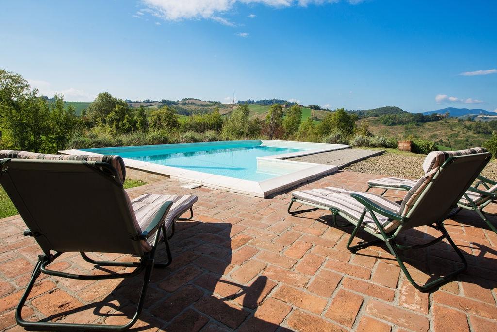 Landelijk gelegen villa met tuin en privé zwembad, wifi aanwezig. - Boerderijvakanties.nl