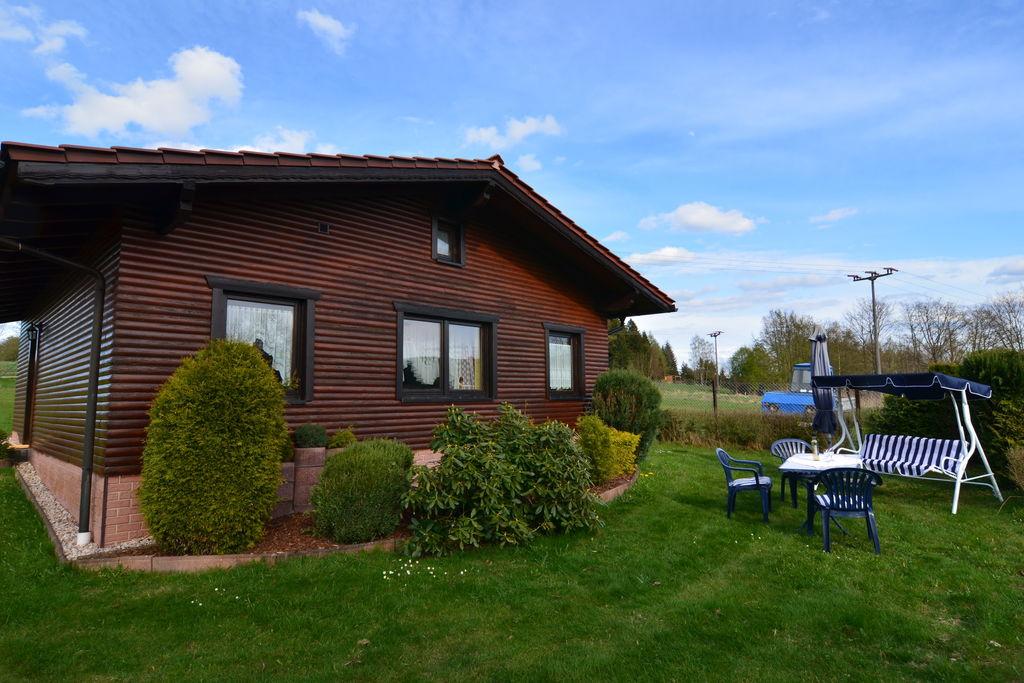 Vakantiehuis op rustige, zonnige locatie met tuin en BBQ in het Thüringer Woud - Boerderijvakanties.nl